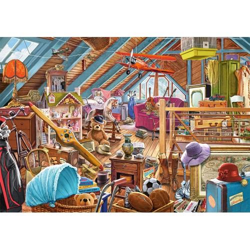 The Cluttered Attic